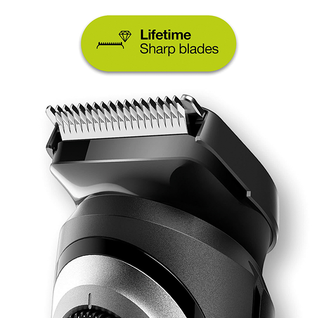 Lifetime lasting sharp blades