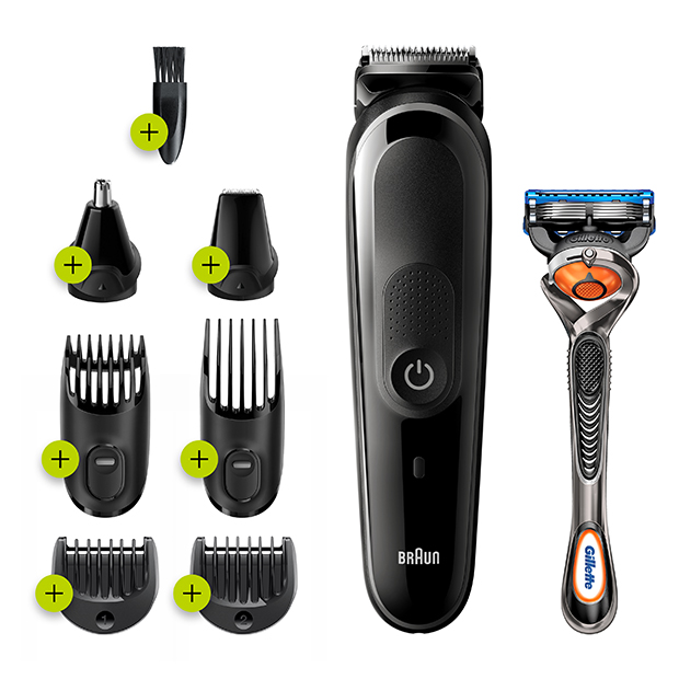 8-in-1 Grooming with AutoSensing Technology