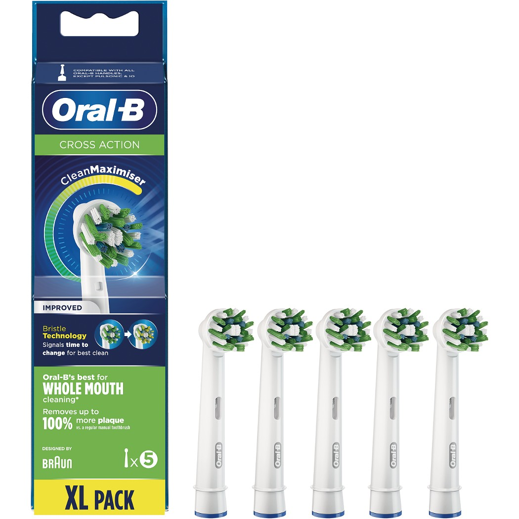 Oral-B CrossAction Heads 5 pack